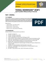 Concrete-Waterproof Admixture CSI KIM