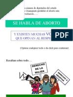 Voces contra el aborto
