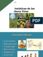 1. Características de los Seres Vivos 2015.ppt