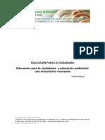 Educacion Para La Ciudadania Ambiental