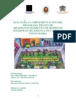 Guía Implementación Programa Piloto de Reaprovechamiento de Residuos Sólidos Perú