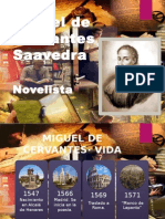 Cervantes, Narrativa