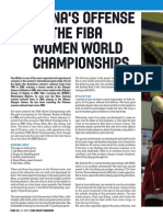 China's Offense ate the Fiba Women World Championships