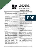 I_pembahasan Ps 2_BAHASA INDONESIA_superintensif SBMPTN 2013