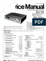 Hfe Technics Su-V3 Service Manual