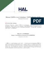 Réseau UMTS Et Ses Évolutions UMTS_HSxPA_3LTE