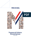 Programa de Gobierno Michelle Bachelet