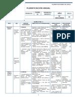 Artes Visuales Planificacion - 1° Basico
