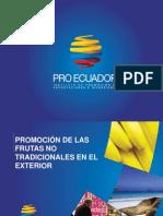 Promoción Frutas No Tradicionales (2015)