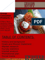 twisted root group ppt project (2)