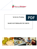 Basics of Therapeutic Diets