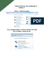 Tutorial Cambio DNS en Windows 7