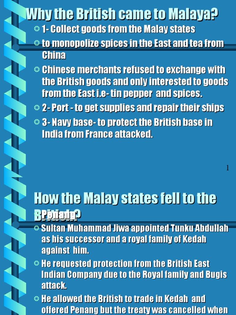British | Malaysia | Unrest
