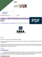 Carreira_ CREA_ Atribuição de Responsabilidade Técnica_ a.R.T