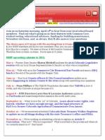 NSRF April 2015 Newsletter