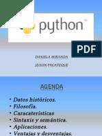 Presentación Python