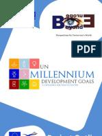 Project Outline - UN Millennium Development Goals - A Challenge for Today's Youth