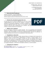 Programa de Algabra Lineal