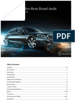 Mercedes-Benz Brand Audit