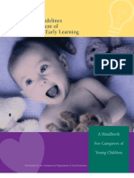 Dss Early Learning Guidelines
