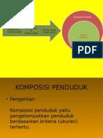 komposisi penduduk