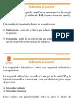 4. Radiometría y Fotometría