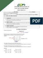 Guia 1 Álgebra Lineal