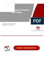 LTE Radio Procedure