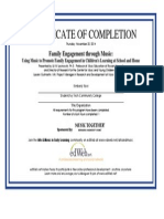 family engagement through music - edweb, webinar