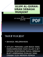 14. Al-Quran Sebagai Mukjizat