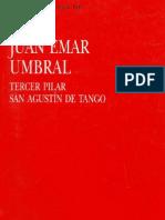 Juan Emar - Umbral - Tercer Pilar - San Agustín de Tango