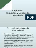 8. Impuestos y CMonetaria