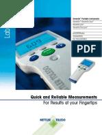 Portable PH Meter Brochure