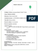 Proiect Didactic ALA 2 GRAD II