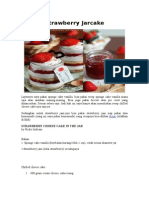 Strawberry Jarcake