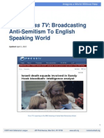"ADL Report ""Attacking"" Press TV"