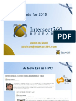 HPC Trends for 2015