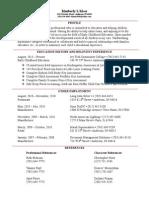 standard 7 - artifact (resume)