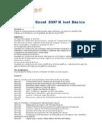 exc07 ba - microsoft excel 2007 nivel básico (16 horas)
