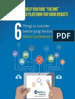 Omni Commerce Platform