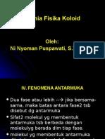 IV. Fenomena Antarmuka
