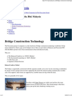 Bridge Construction Technology - Freyssinet Malaysia