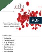 Anemia y sus clasificaciones.