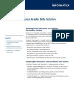 02012 Insurance Master Data Ds en US