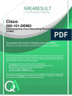 Reduce Your Chances of Failure in Cisco 200-101 Exam