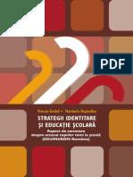 Strategii Identitare Si Educatie Scolara Volum 2011