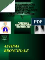 Kuliah 2 Kegawatan Asthma ,Pneumonia Copd
