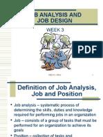 Chapter 3 - Job Analysis and Job Design (1)