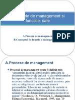 Procesele de Management Si Functiile Sale