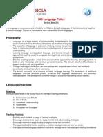dis language policy